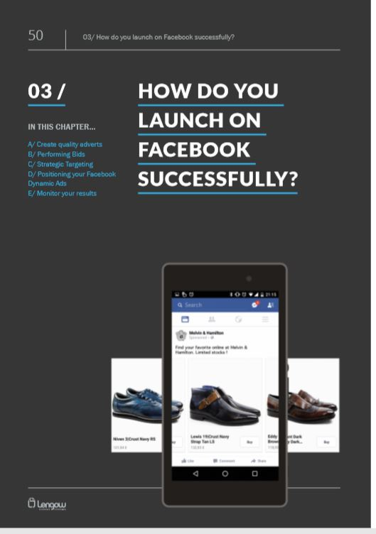 How do you launch on facebook successfully