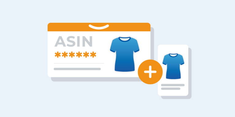 Import ASIN codes to use on Amazon